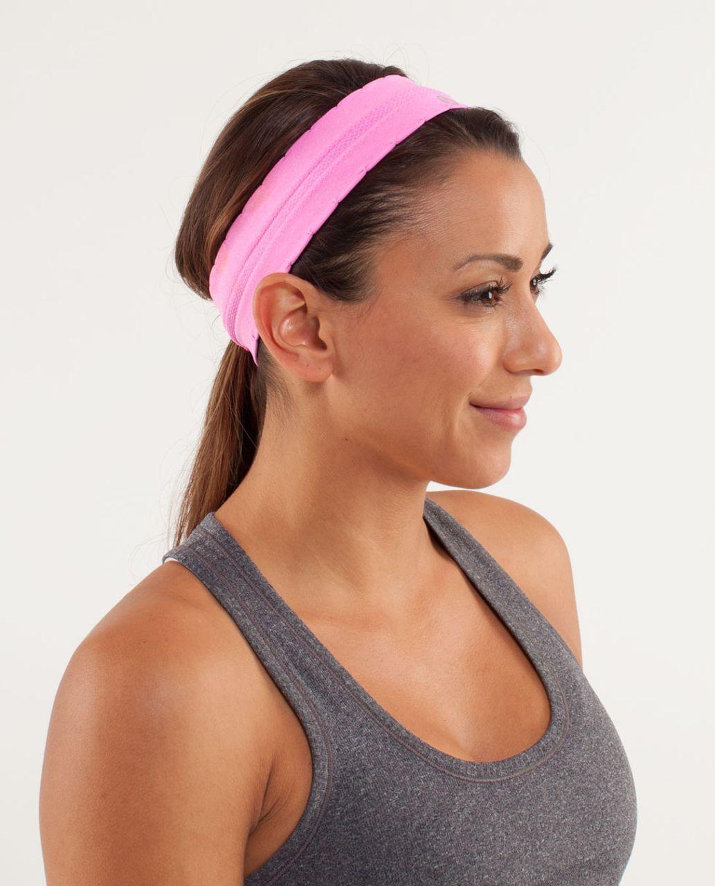 Lululemon Swiftly Headband - Pow Pink
