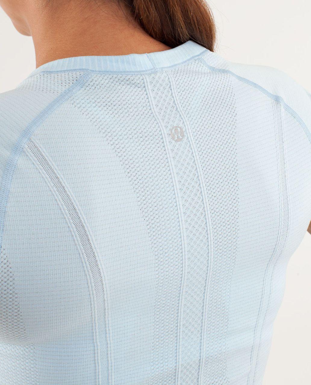 Lululemon Run:  Swiftly Tech Short Sleeve - Caspian Blue