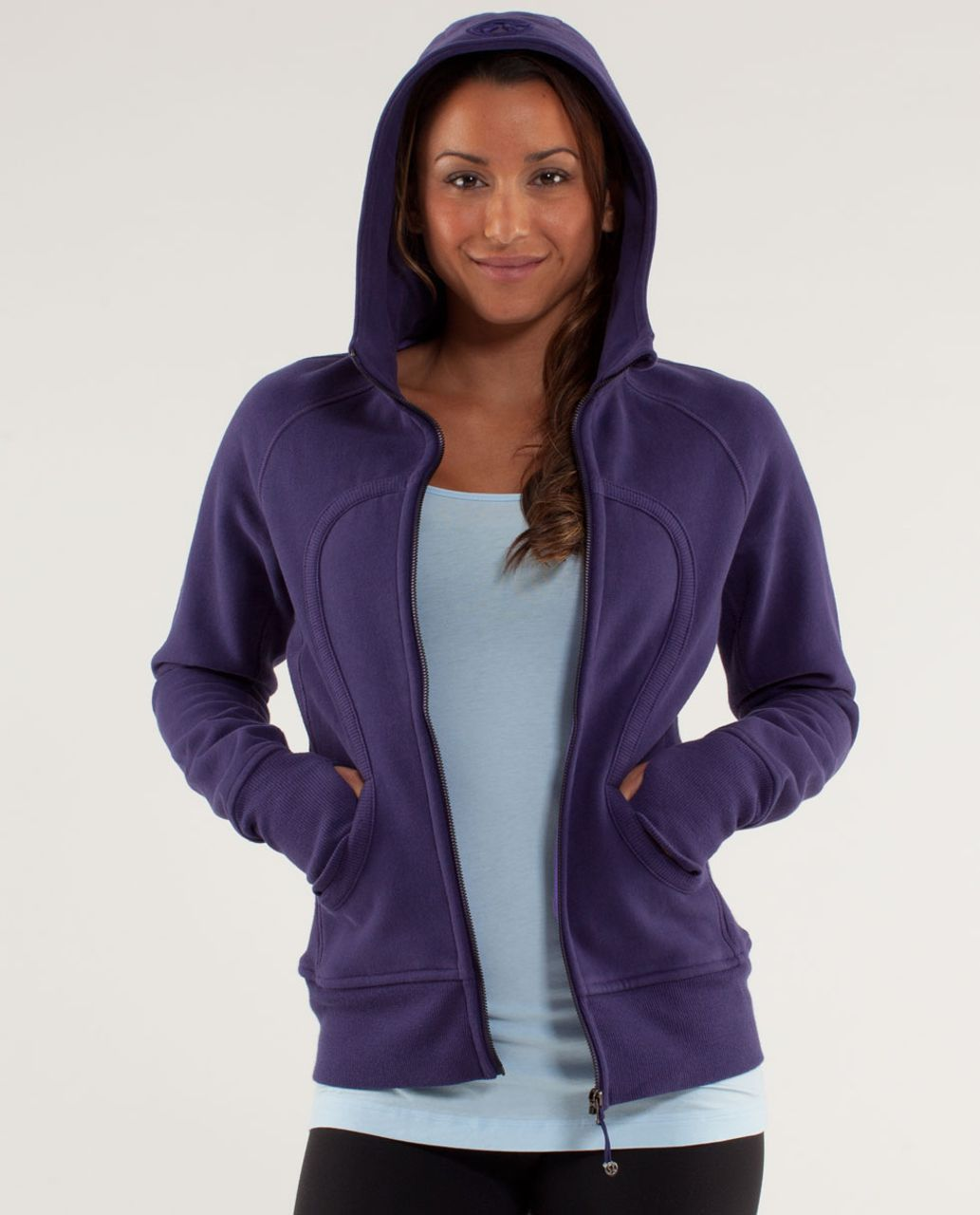 Lululemon Scuba Hoodie - Dense Purple / Power Purple