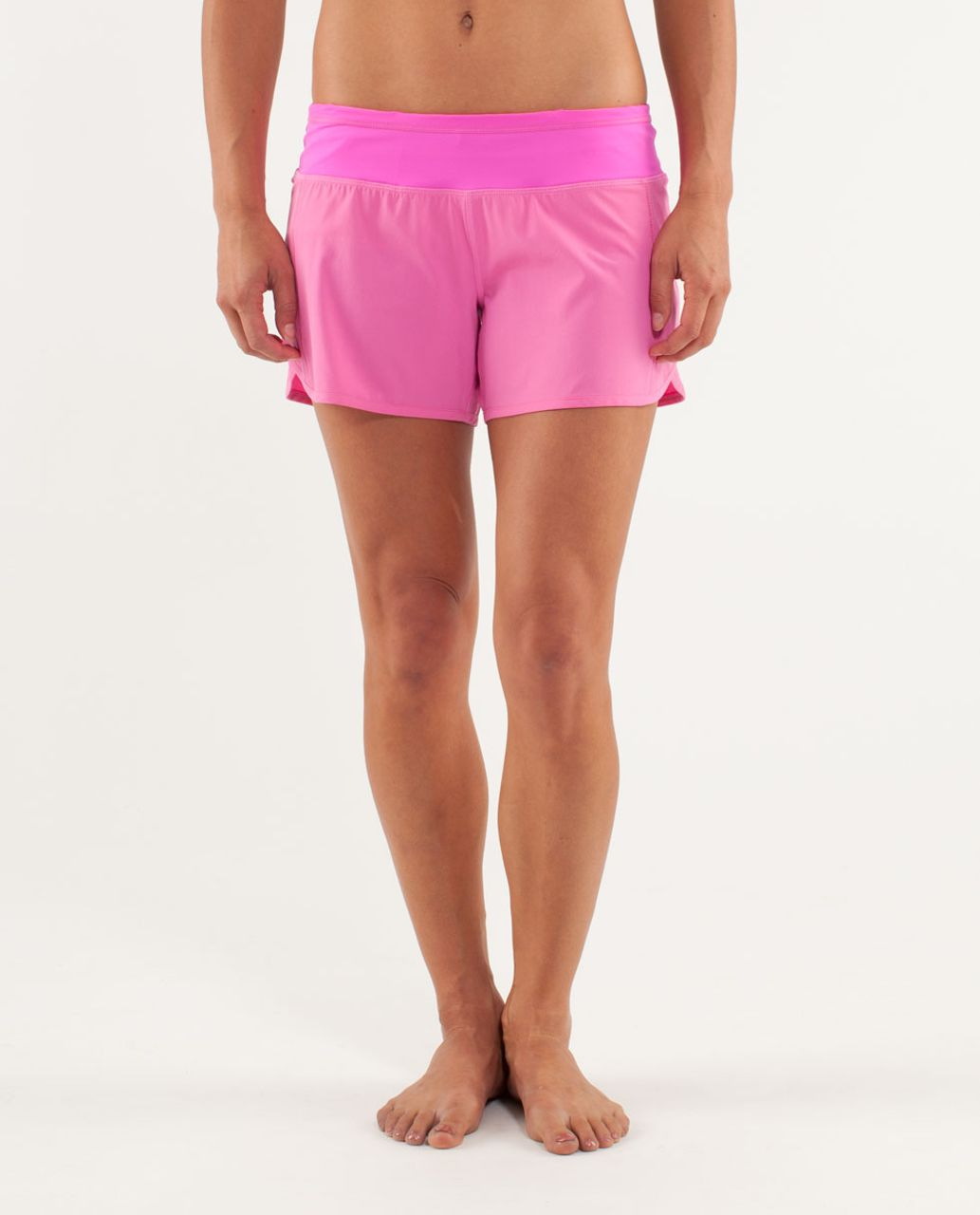 Lululemon Turbo Run Short - Pow Pink Light