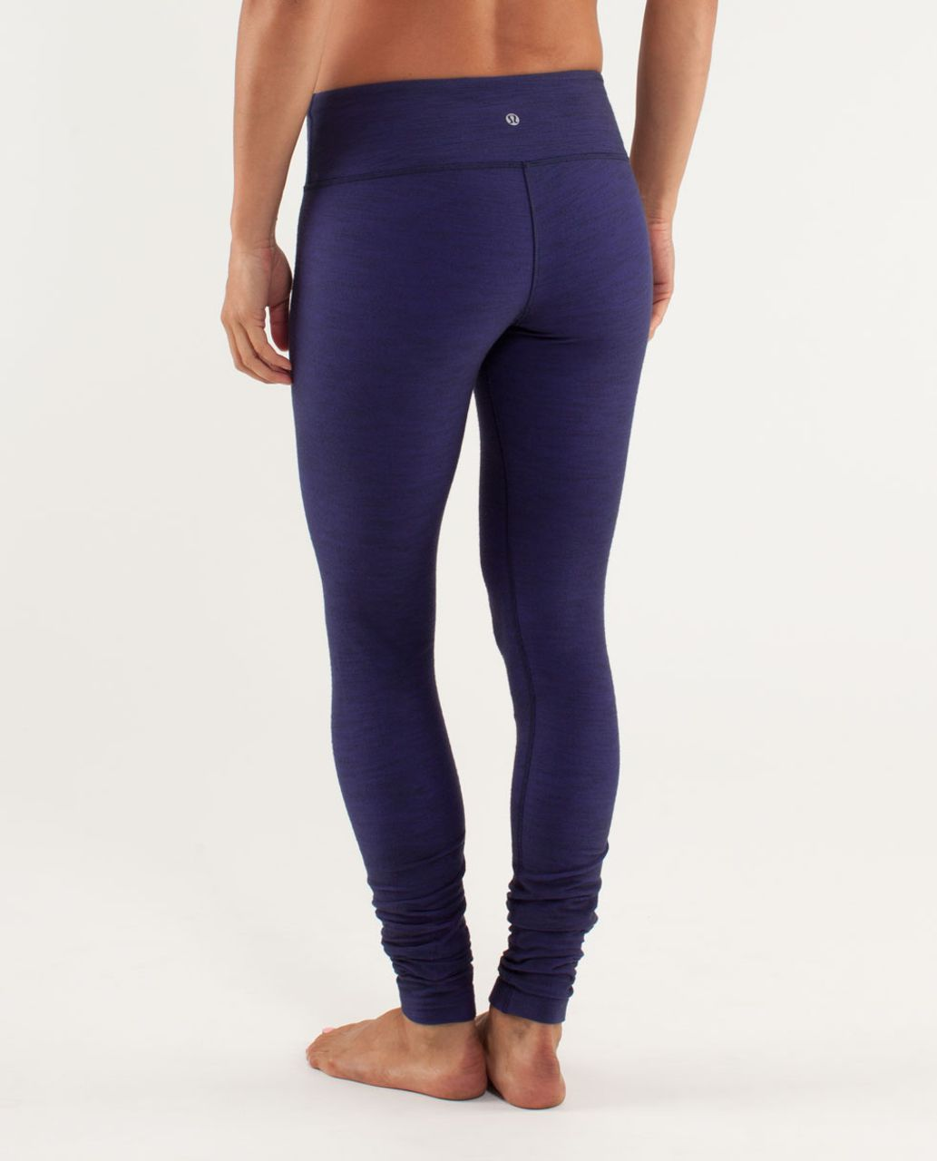Lululemon Wunder Under Pant *Denim - Deep Indigo Slub Denim