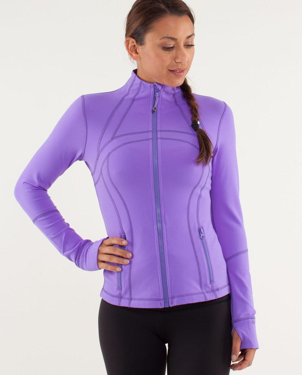 Lululemon Define Jacket - Power Purple