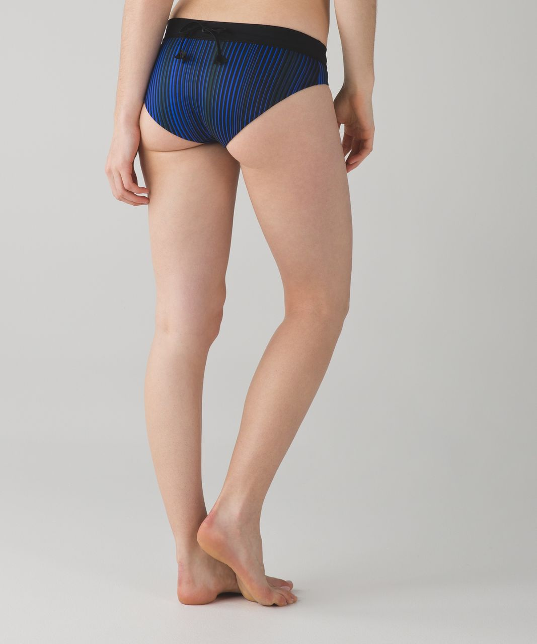 Lululemon Tidal Flow Full Bottom - Twisted Dune Harbor Blue Black / Black / Harbor Blue