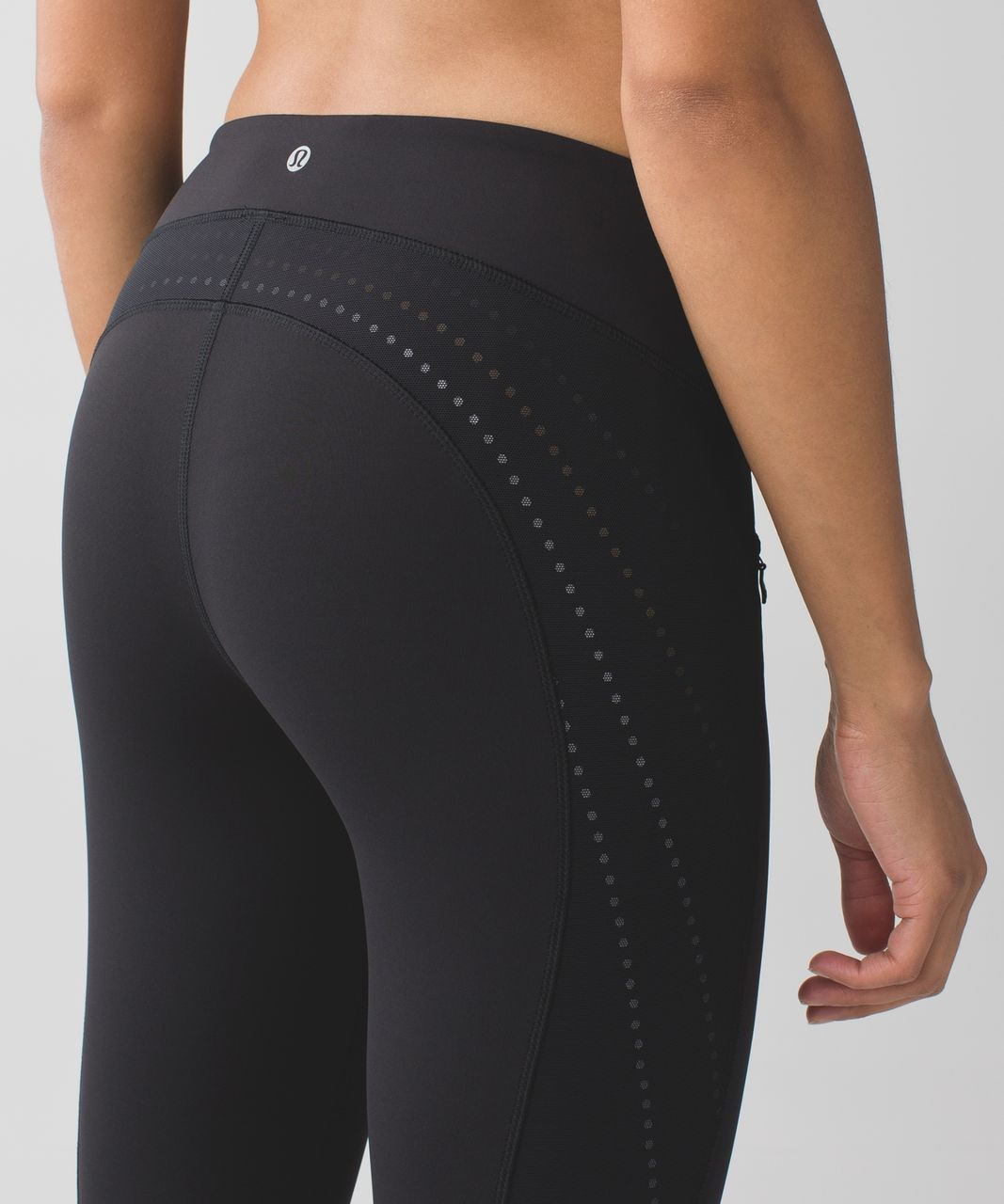 Lululemon Stop At Nothing Crop - Black