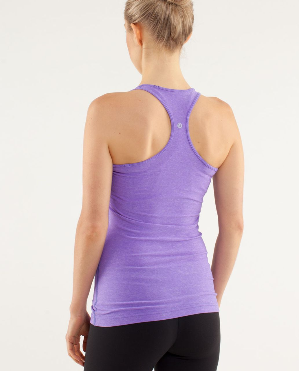 Lululemon Cool Racerback - Heathered Power Purple