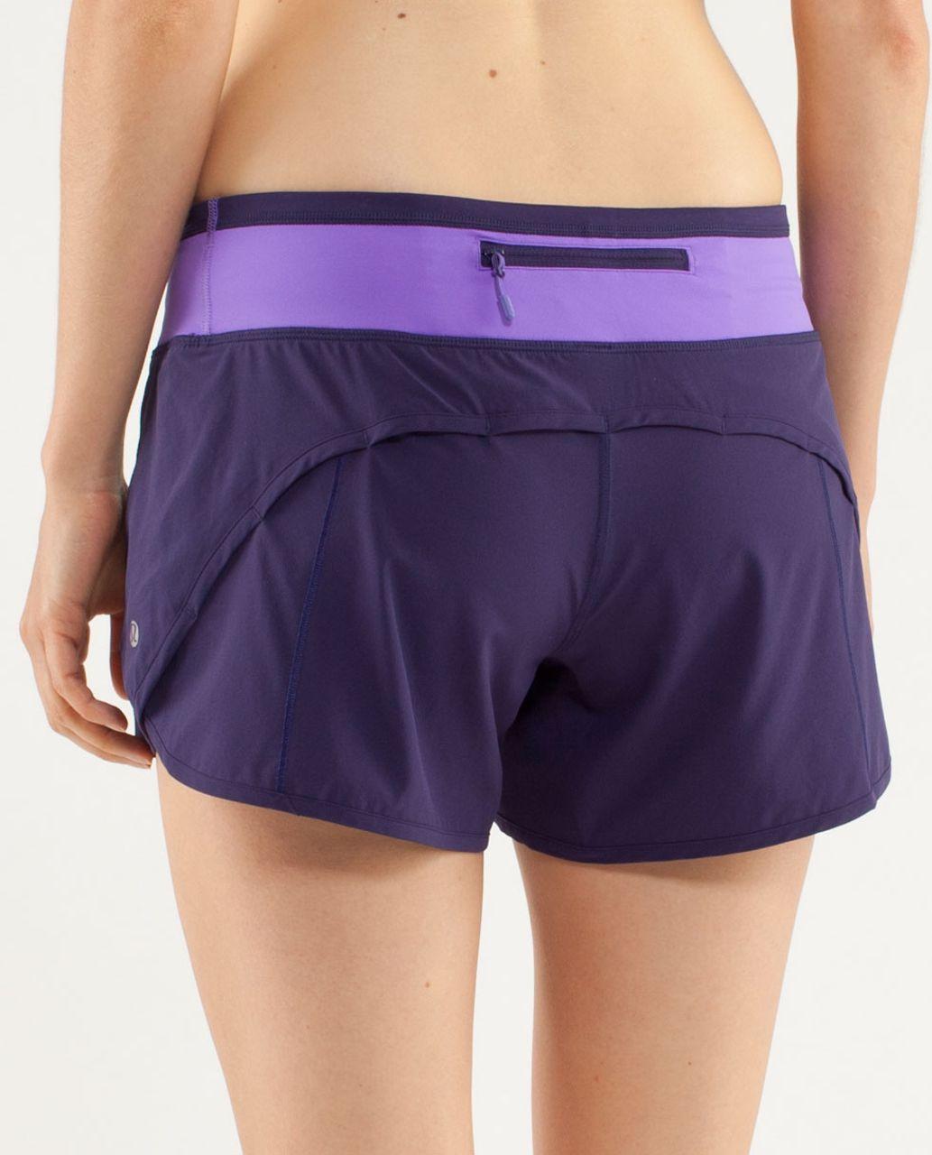 Lululemon Turbo Run Short - Dense Purple