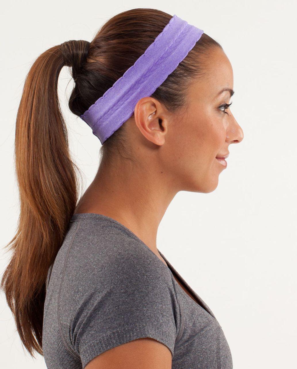 Lululemon Swiftly Headband *Special Edition - Power Purple