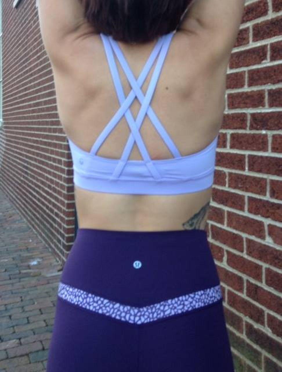 Lululemon Align Pant - Deep Zinfandel / Miss Mosaic Lilac Deep Zinfandel