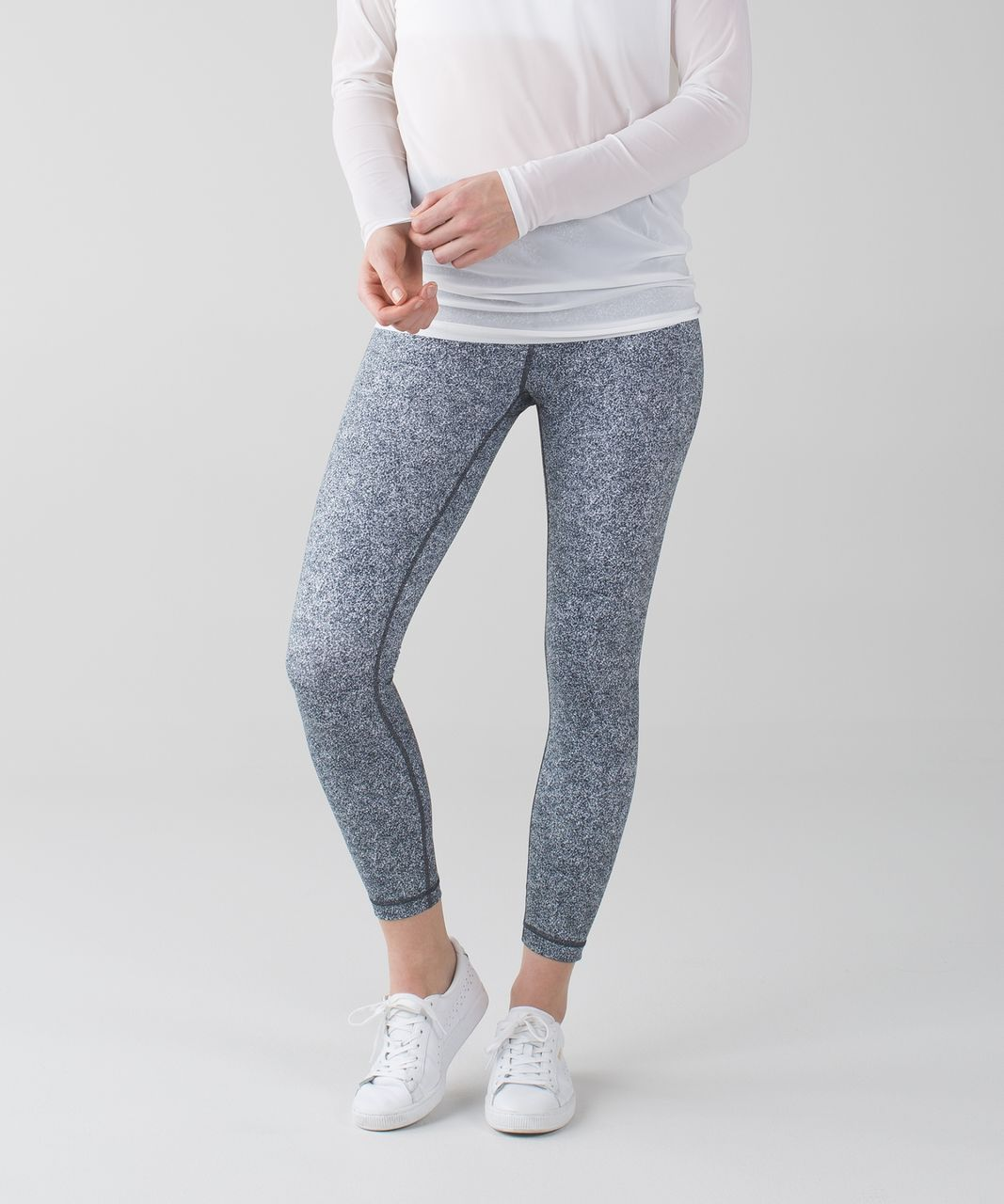 Lululemon High Times Pant - Rio Mist White Black