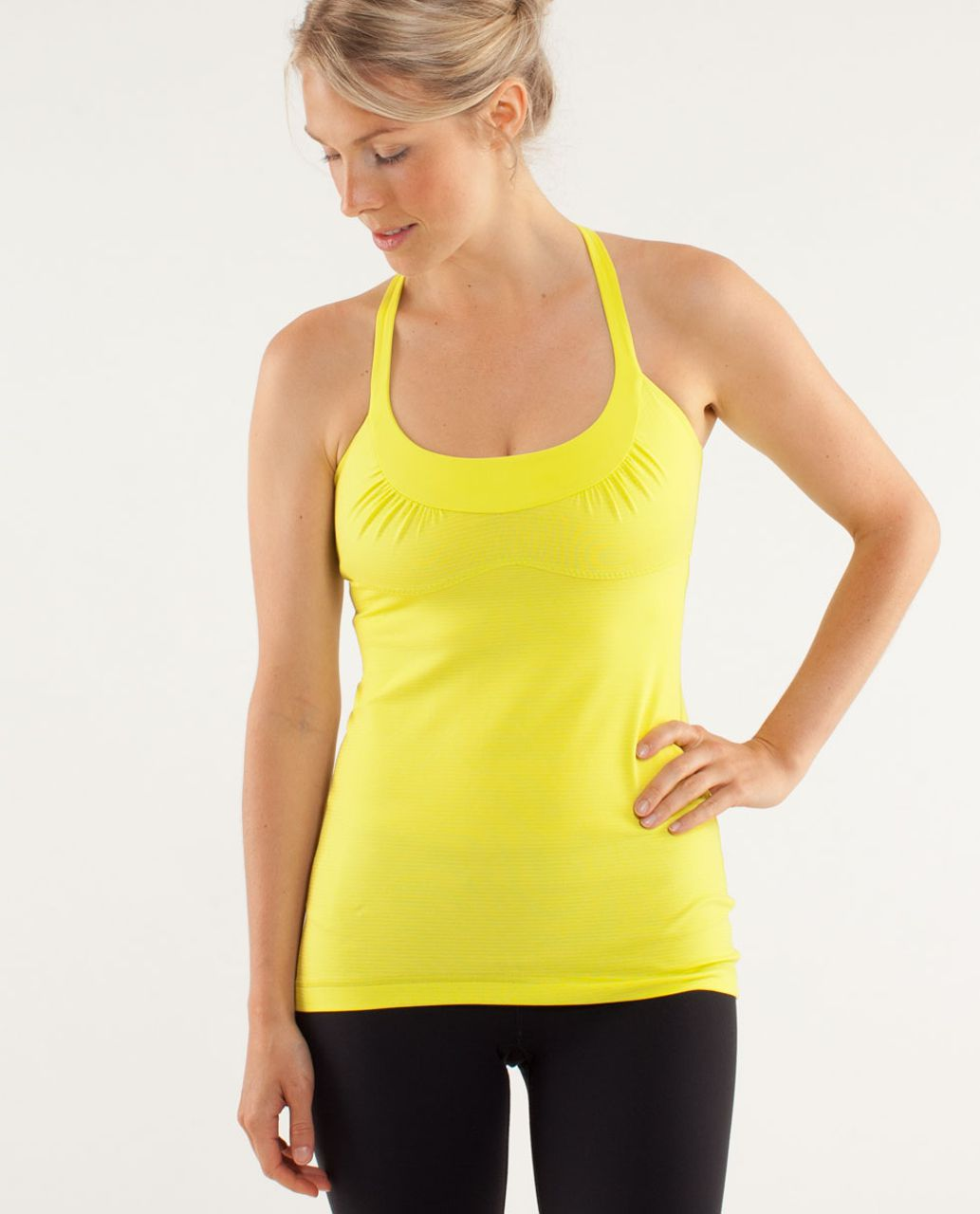Lululemon Scoop Me Up Tank - Tonka Stripe Split Pea / Heathered Split Pea / Split Pea