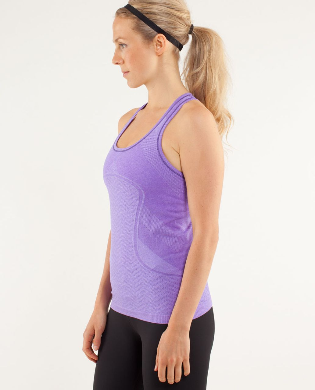 Lululemon Run:  Swiftly Tech Racerback - Power Purple