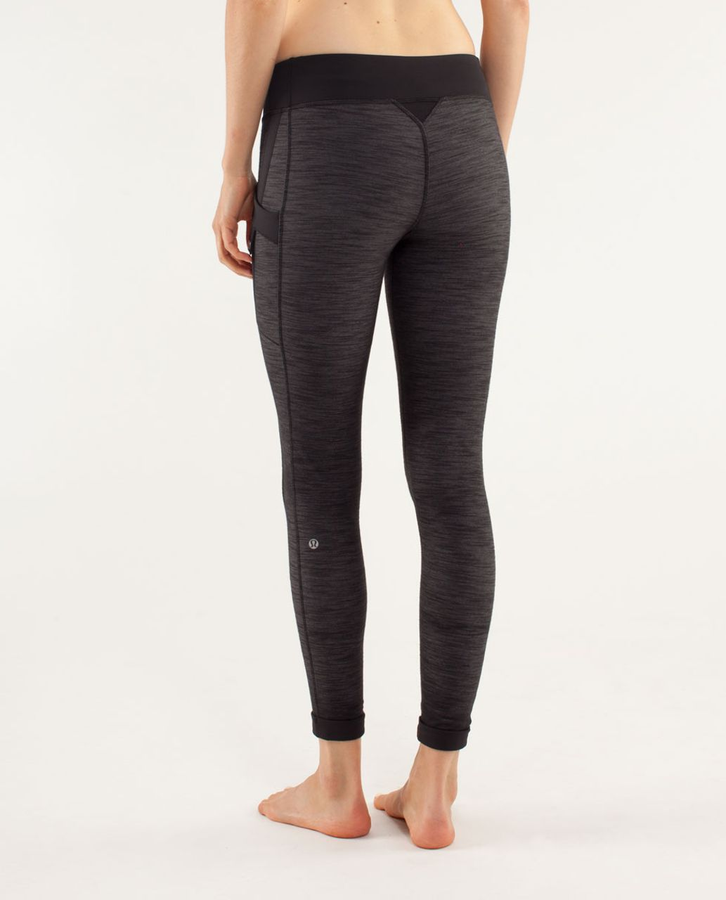23319d7b27244 Lululemon Warrior Pant - Black Slub Denim / Black - lulu fanatics