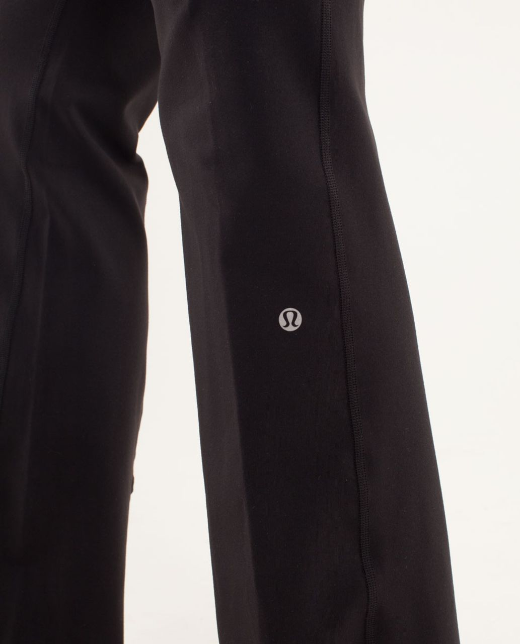 Lululemon Groove Pant (Regular) - Black / Fall Quilt 13 / Angel Blue