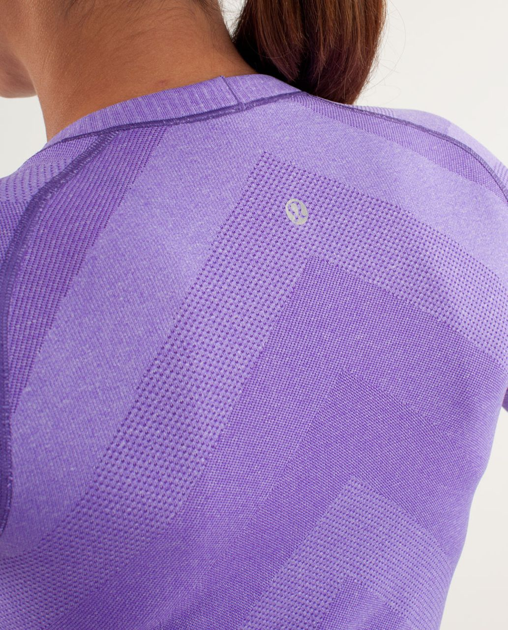 Lululemon Run:  Swiftly Tech Long Sleeve - Power Purple