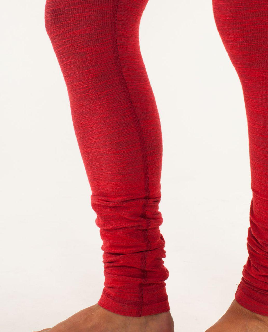 Lululemon Wunder Under Pant *Denim - Deepest Cranberry Slub Denim