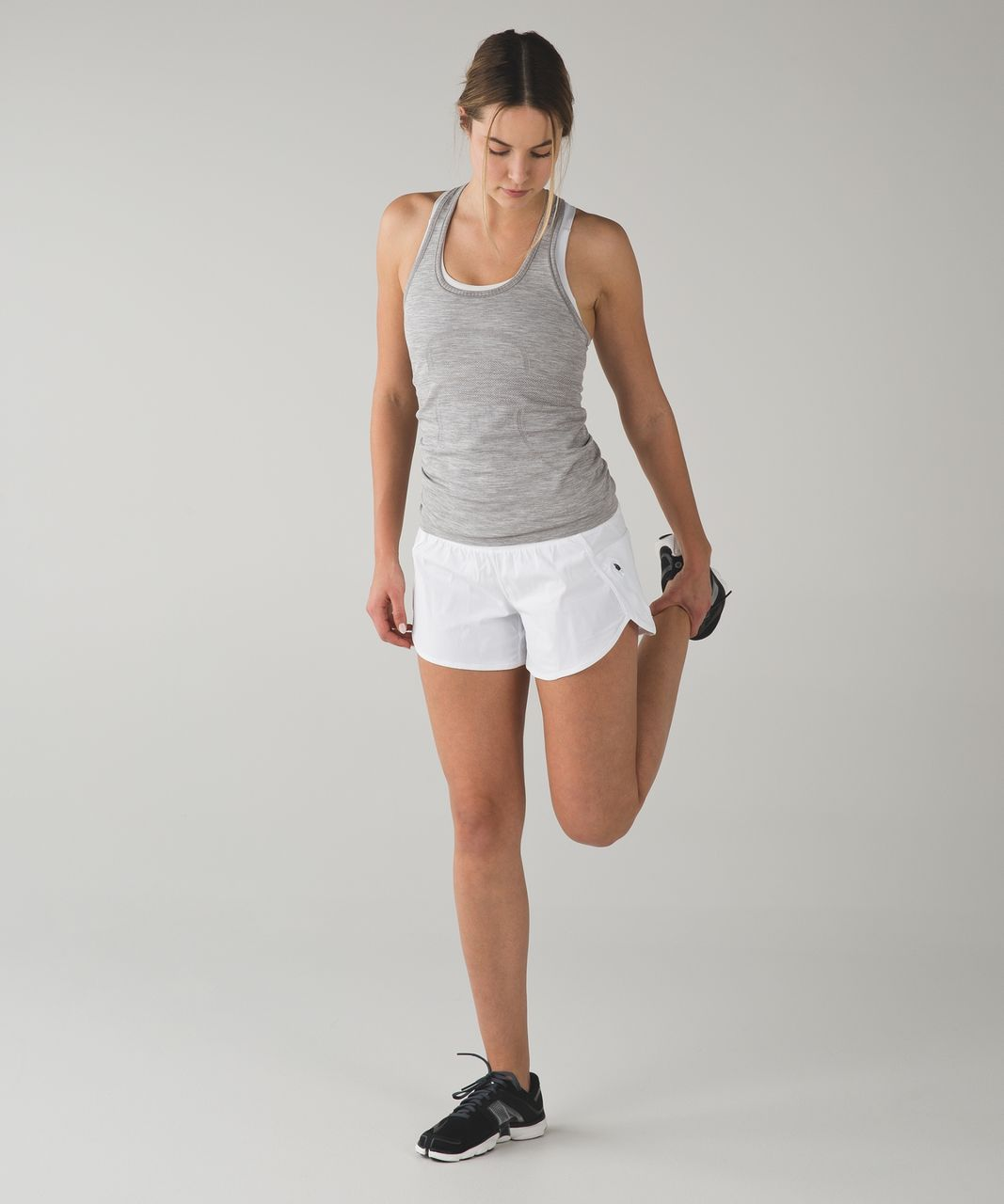 Lululemon Tracker Short III - White