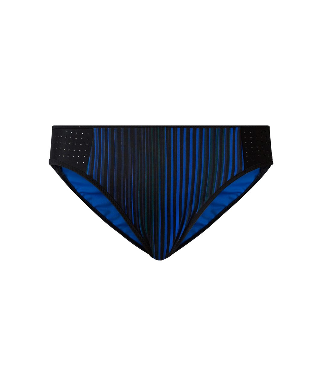 Lululemon Tidal Flow Bikini - Twisted Dune Harbor Blue Black / Black / Harbor Blue