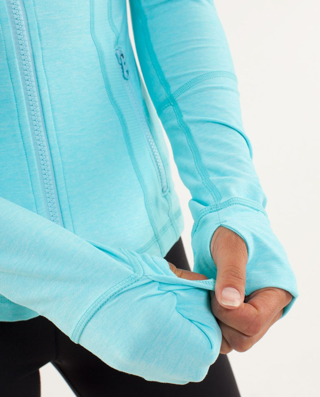 Lululemon Define Jacket - Heathered Angel Blue / Tonka Stripe Angel Blue / Heathered Angel Blue