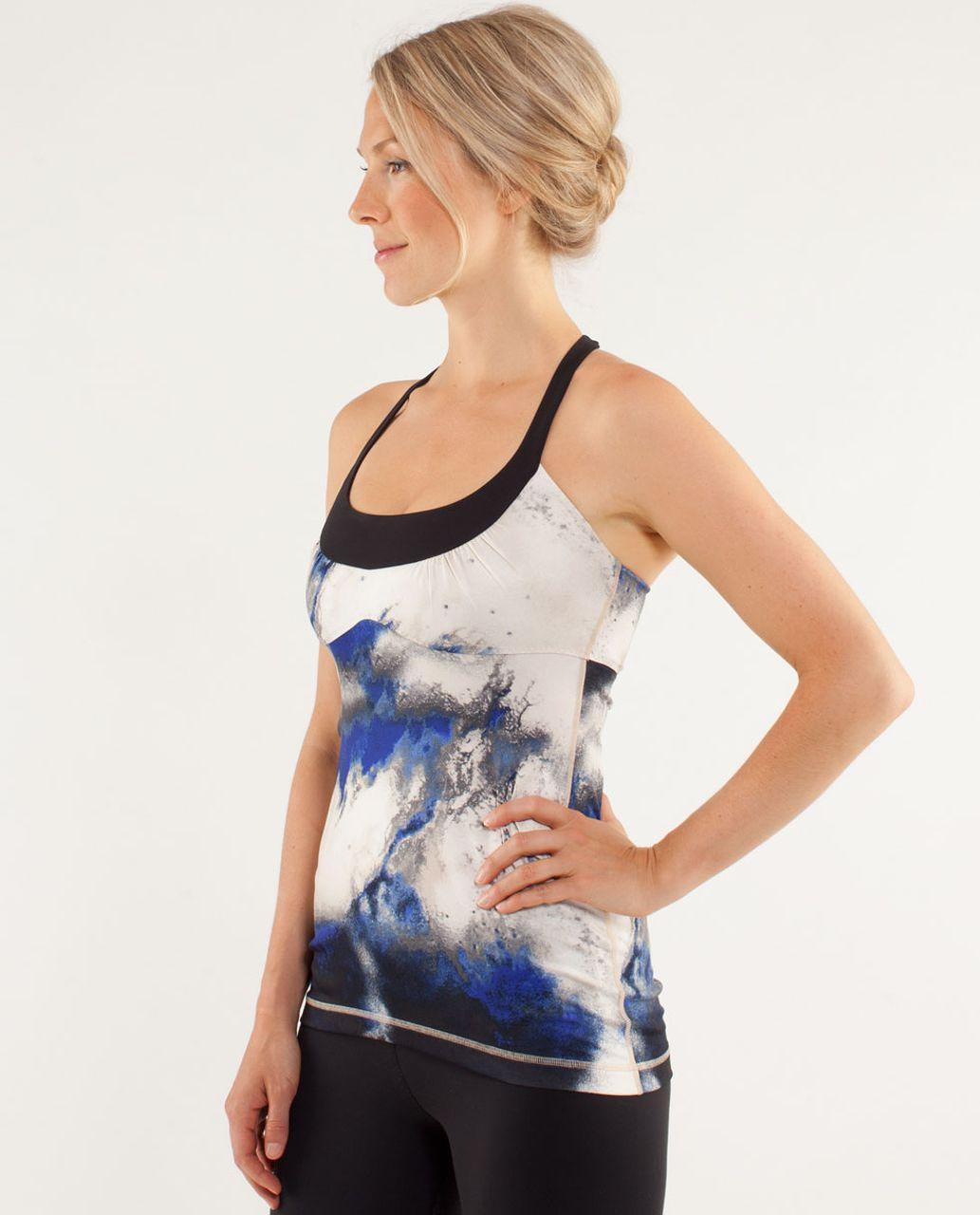 Lululemon Scoop Me Up Tank - Milky Way Multi Print / Black