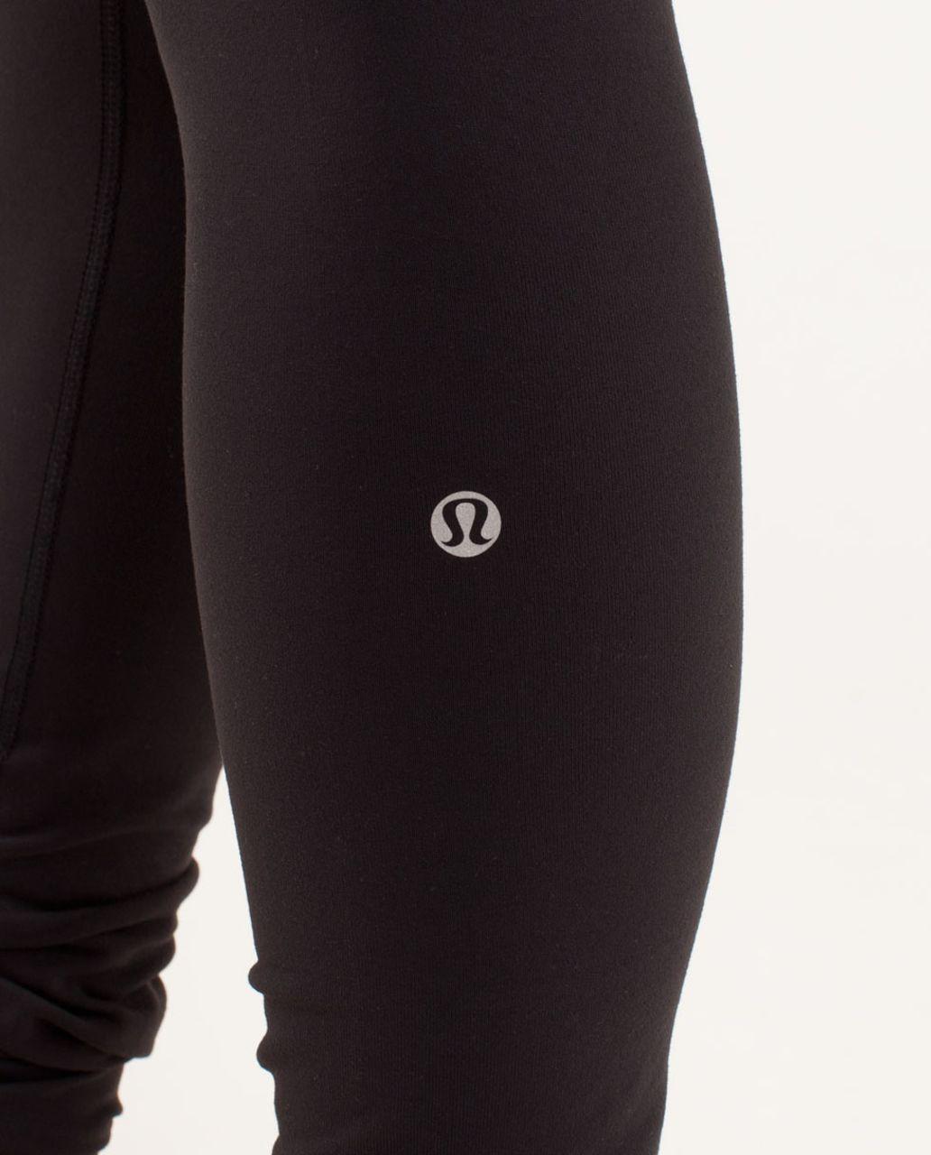 Lululemon Wunder Under Pant - Black / Fall 12 Quilt 9