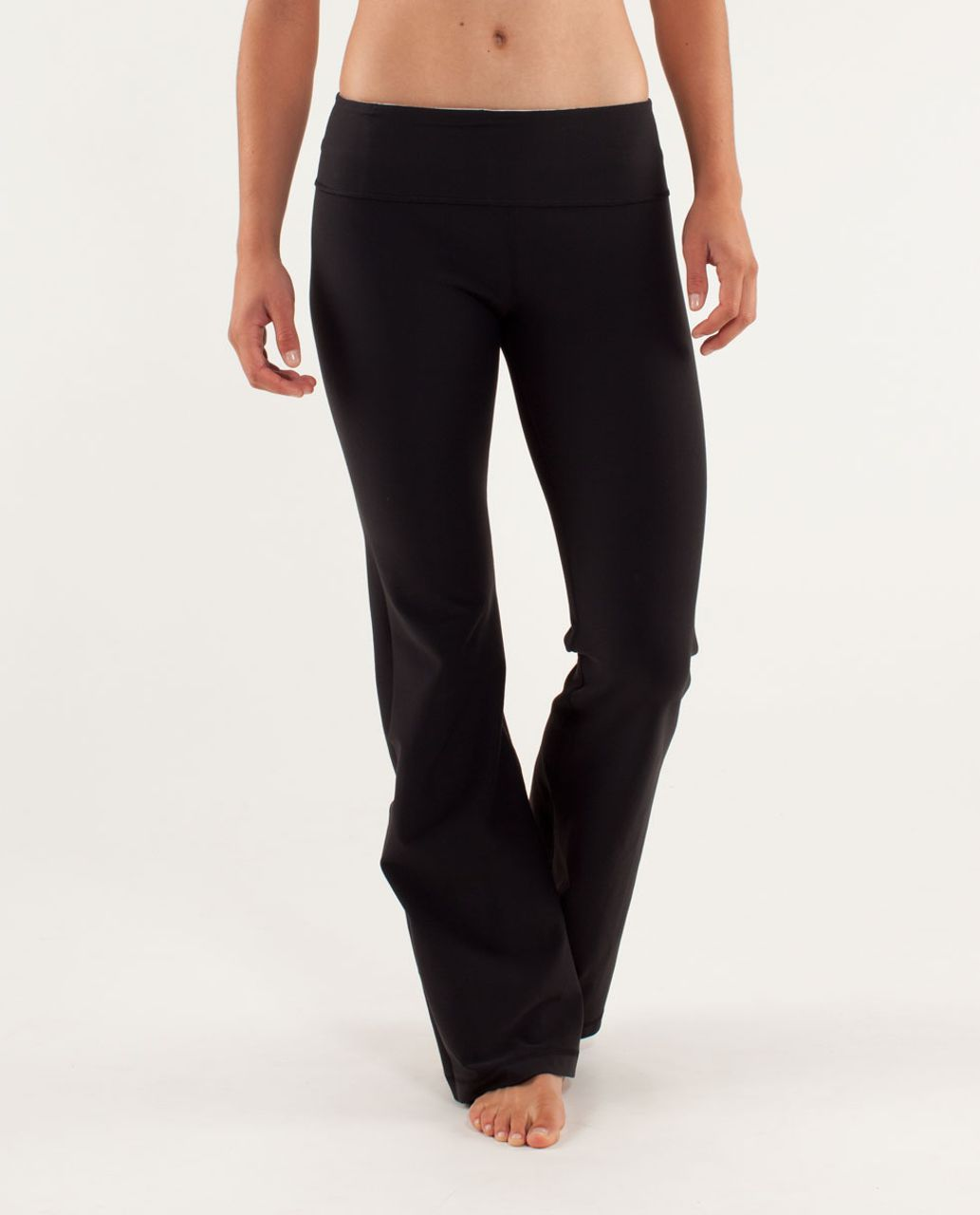 Lululemon Groove Pant (Regular) - Black / Milky Way Multi / Pigment Blue