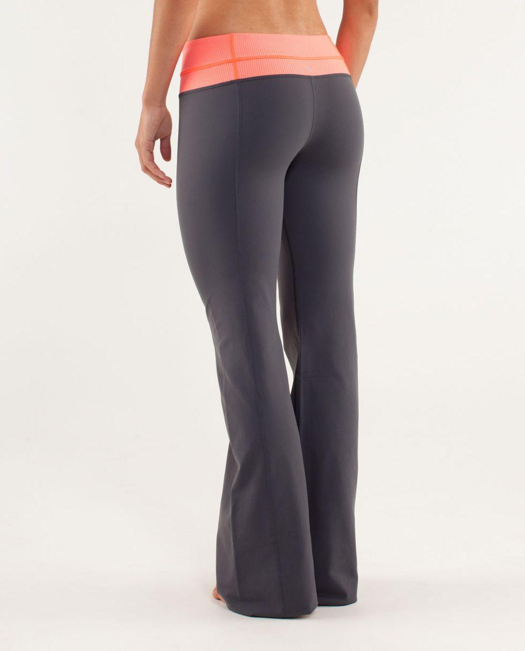 Lululemon Groove Pant (Tall) - Coal / Tonka Stripe Flare / Heathered Flare