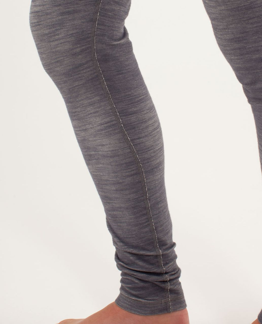 Lululemon Wunder Under Pant *Denim - Cashew Coal Slub Denim