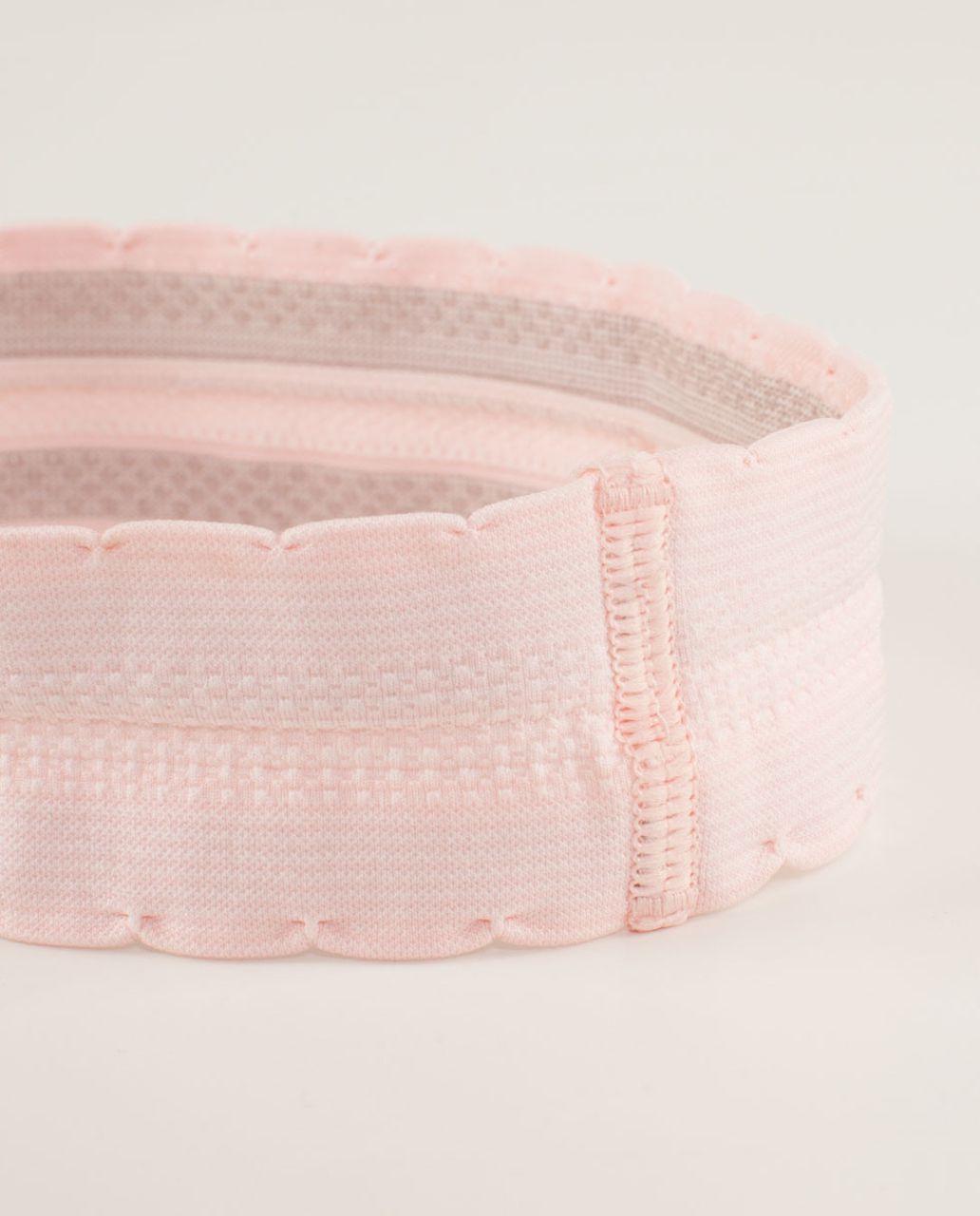 Lululemon Swiftly Headband - Pretty Pink