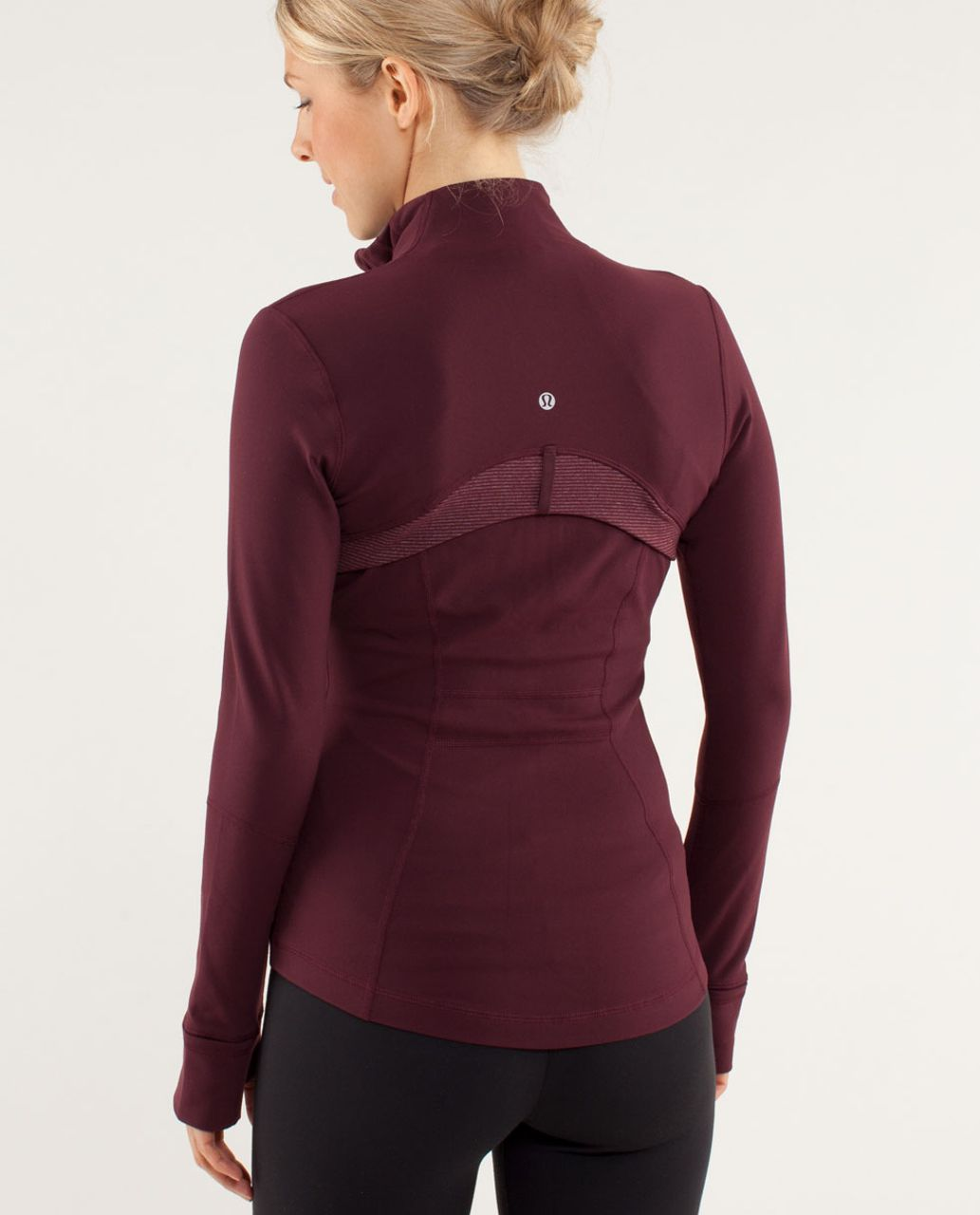 Lululemon Define Jacket - Bordeaux Drama / Tonka Stripe Bordeaux Drama / Heathered Bordeaux Drama