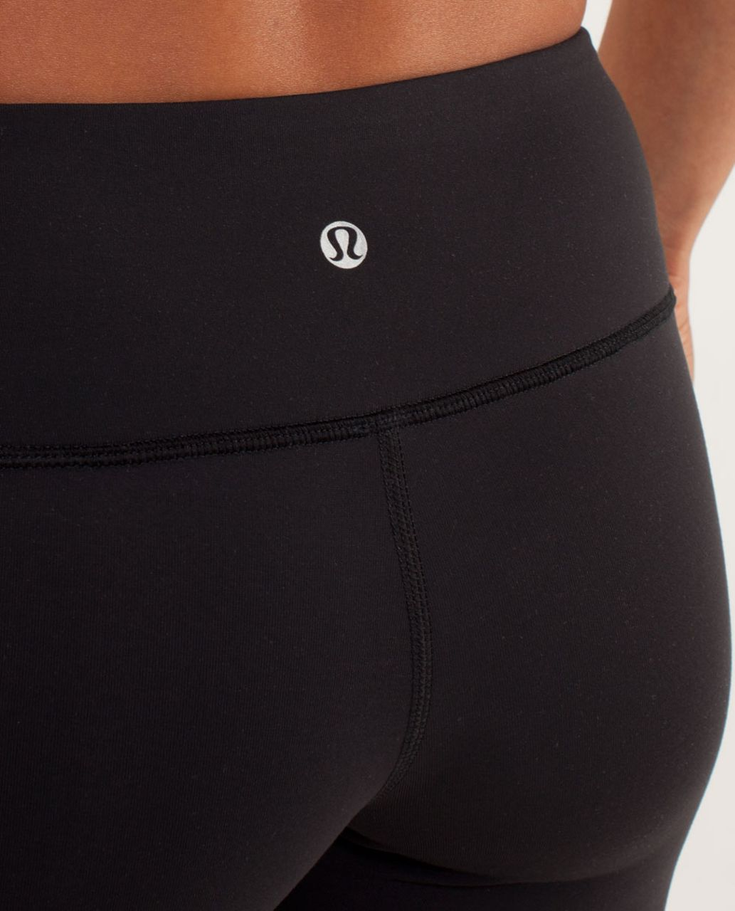 Lululemon Wunder Under Crop *Bonded - Black /  Coal