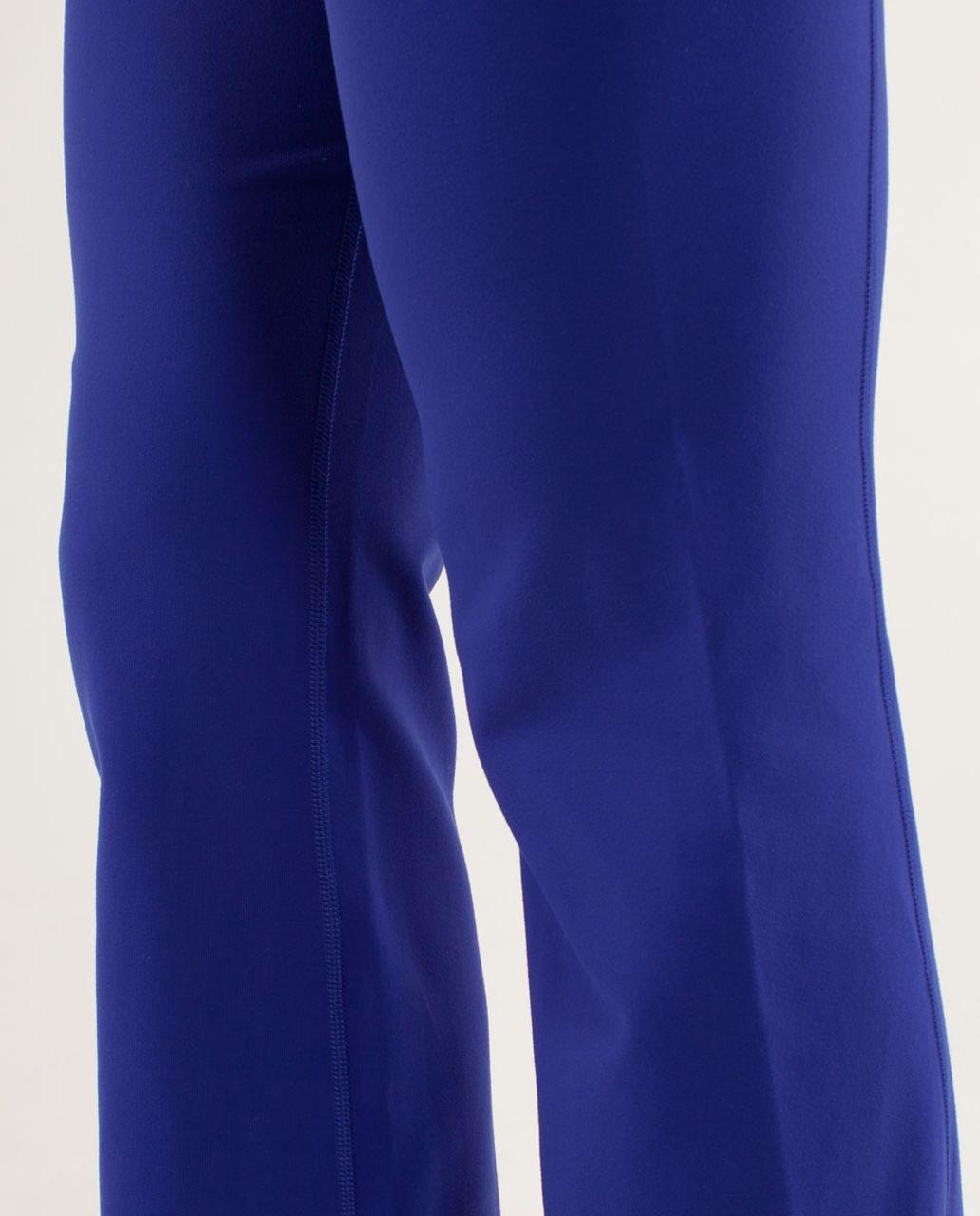 Lululemon Groove Pant (Regular) - Pigment Blue /  Heathered Pigment Blue