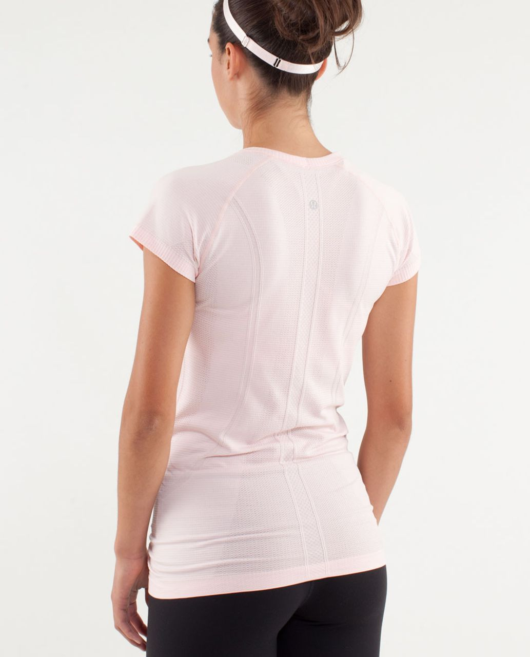 Lululemon Run:  Swiftly Tech Short Sleeve - Pretty Pink