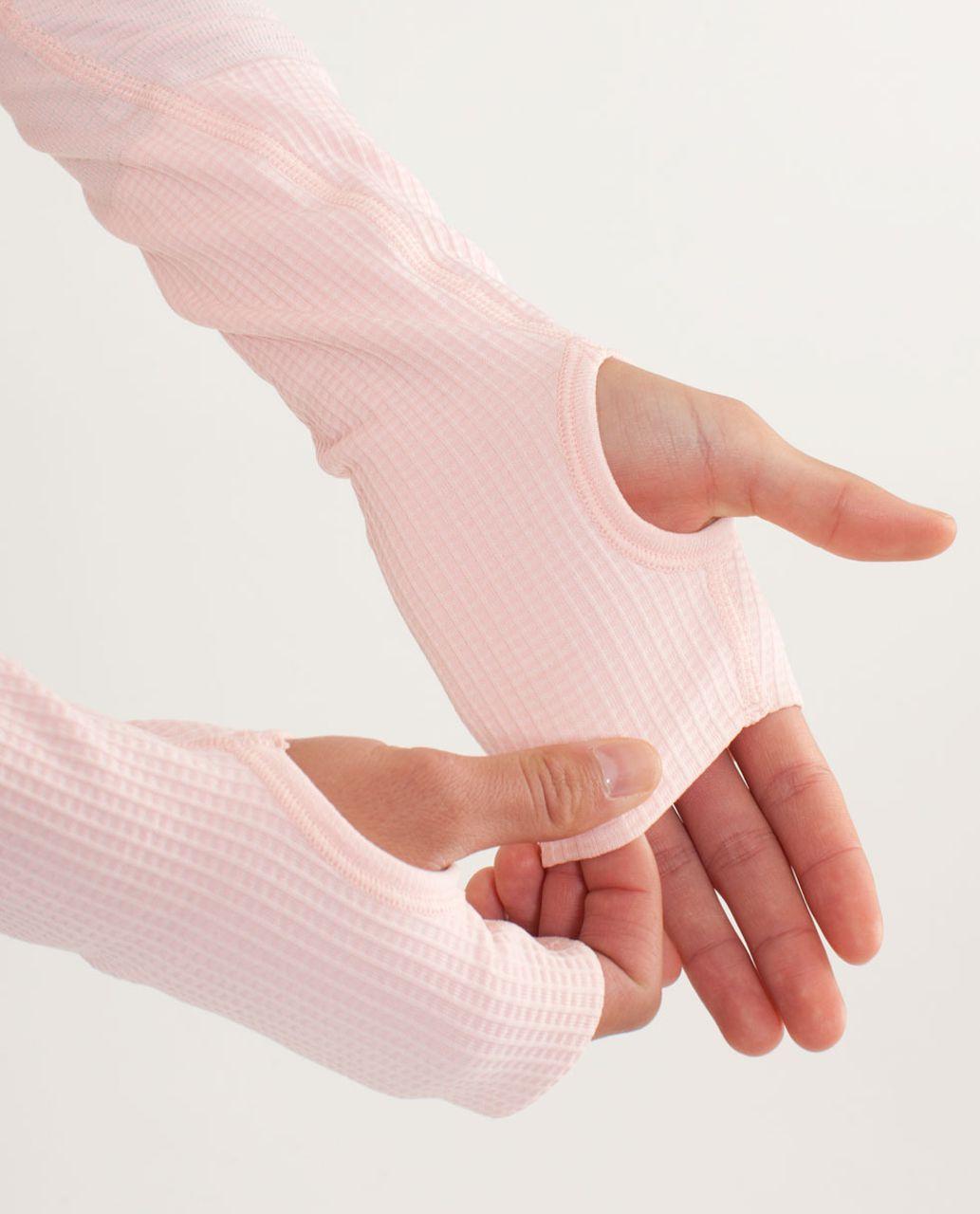 Lululemon Run:  Swiftly Tech Long Sleeve - Pretty Pink