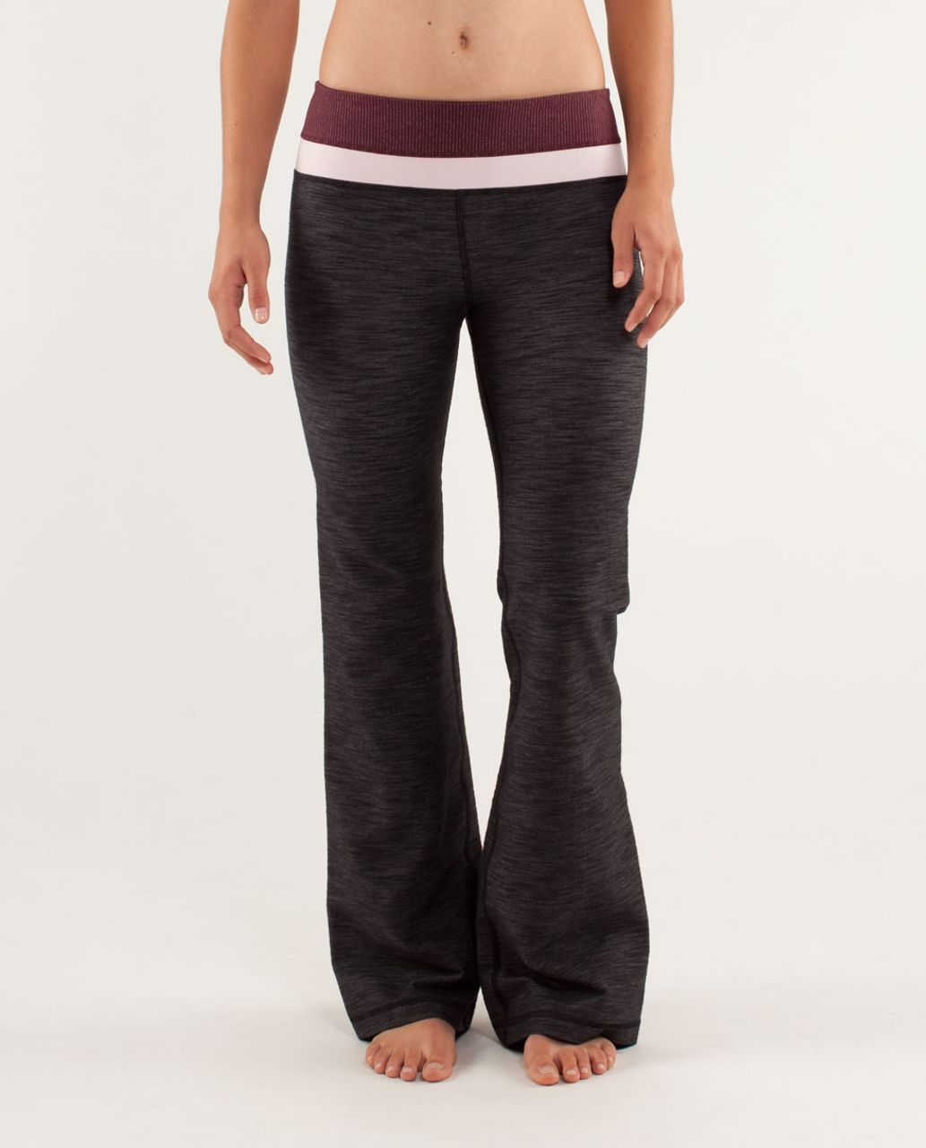 Lululemon Groove Pant *Denim (Regular) - Black Slub Denim / Tonka Stripe Bordeaux Drama / Heathered Bordeaux Drama / Heathered Pret