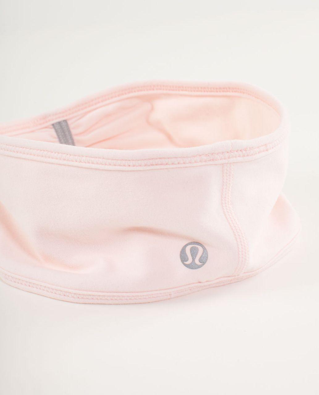 Lululemon Brisk Run Headband - Pretty Pink