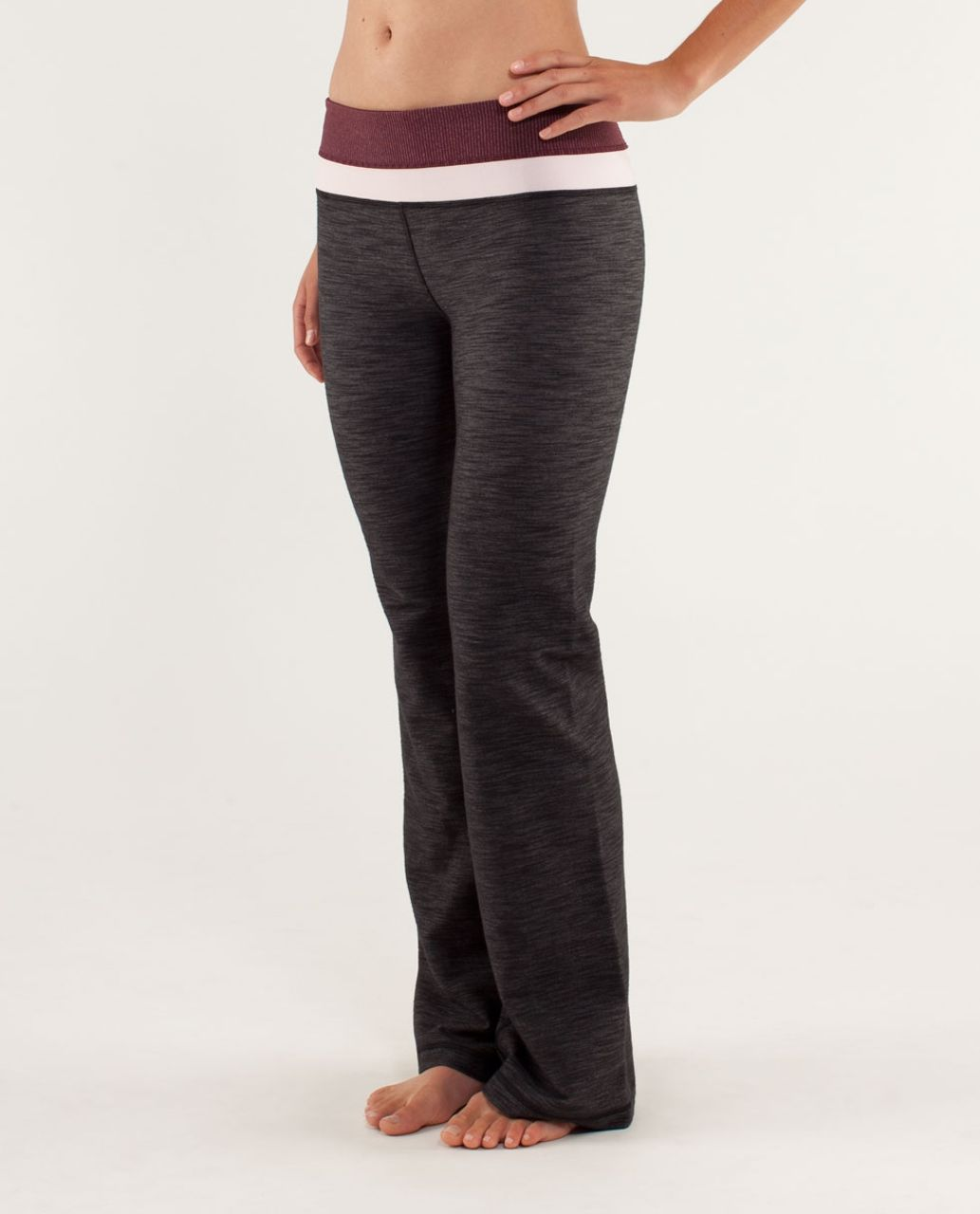 Lululemon Groove Pant *Denim (Tall) - Black Slub Denim / Tonka Stripe Bordeaux Drama / Heathered Bordeaux Drama / Heathered Pret