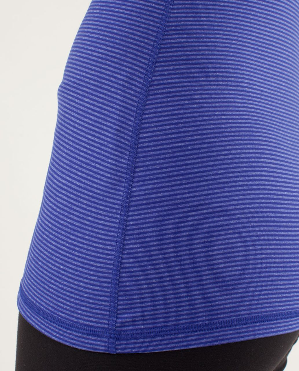 Lululemon Power Y Tank *Luon Light - Tonka Stripe Pigment Blue / Heathered Pigment Blue