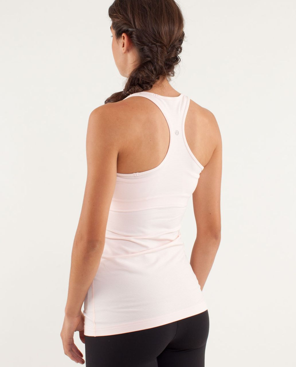 Lululemon Cool Racerback - Tonka Stripe Pretty Pink / Heathered Pretty Pink