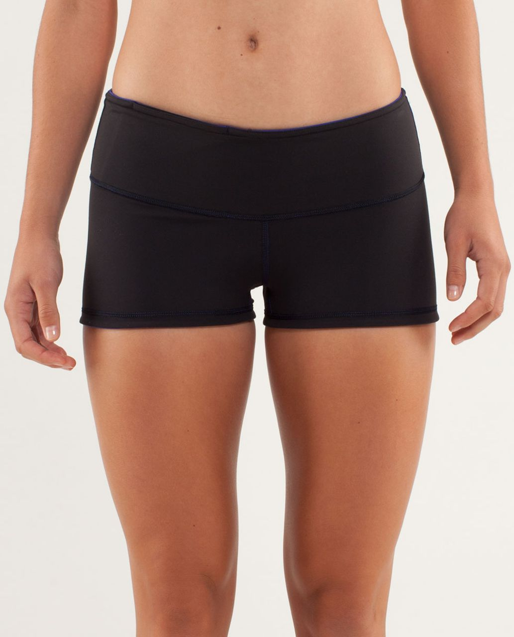 Lululemon Boogie Short - Pigment Blue / Black