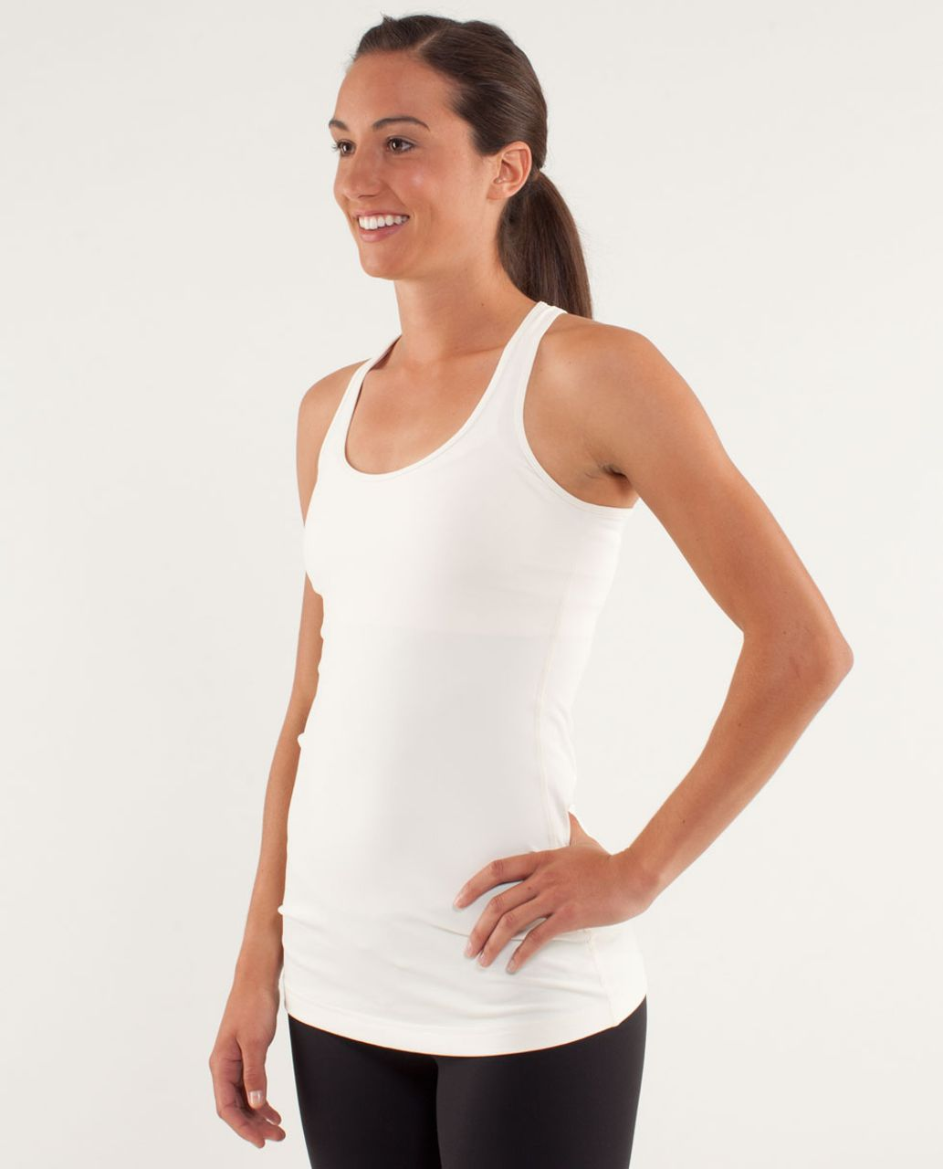 Lululemon Cool Racerback - Polar Cream