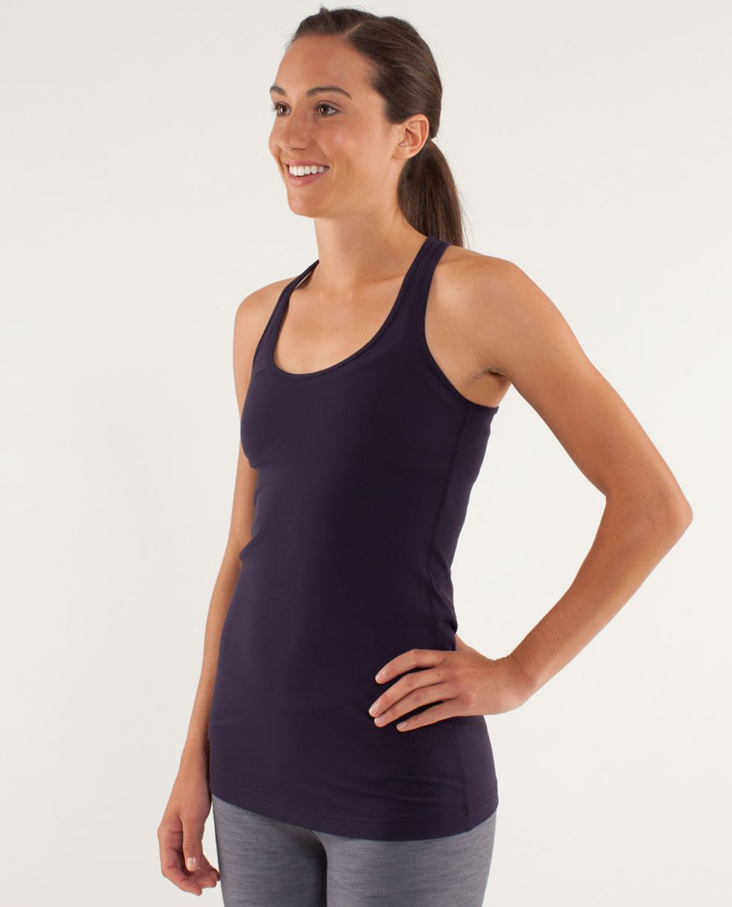 Lululemon Cool Racerback - Black Swan