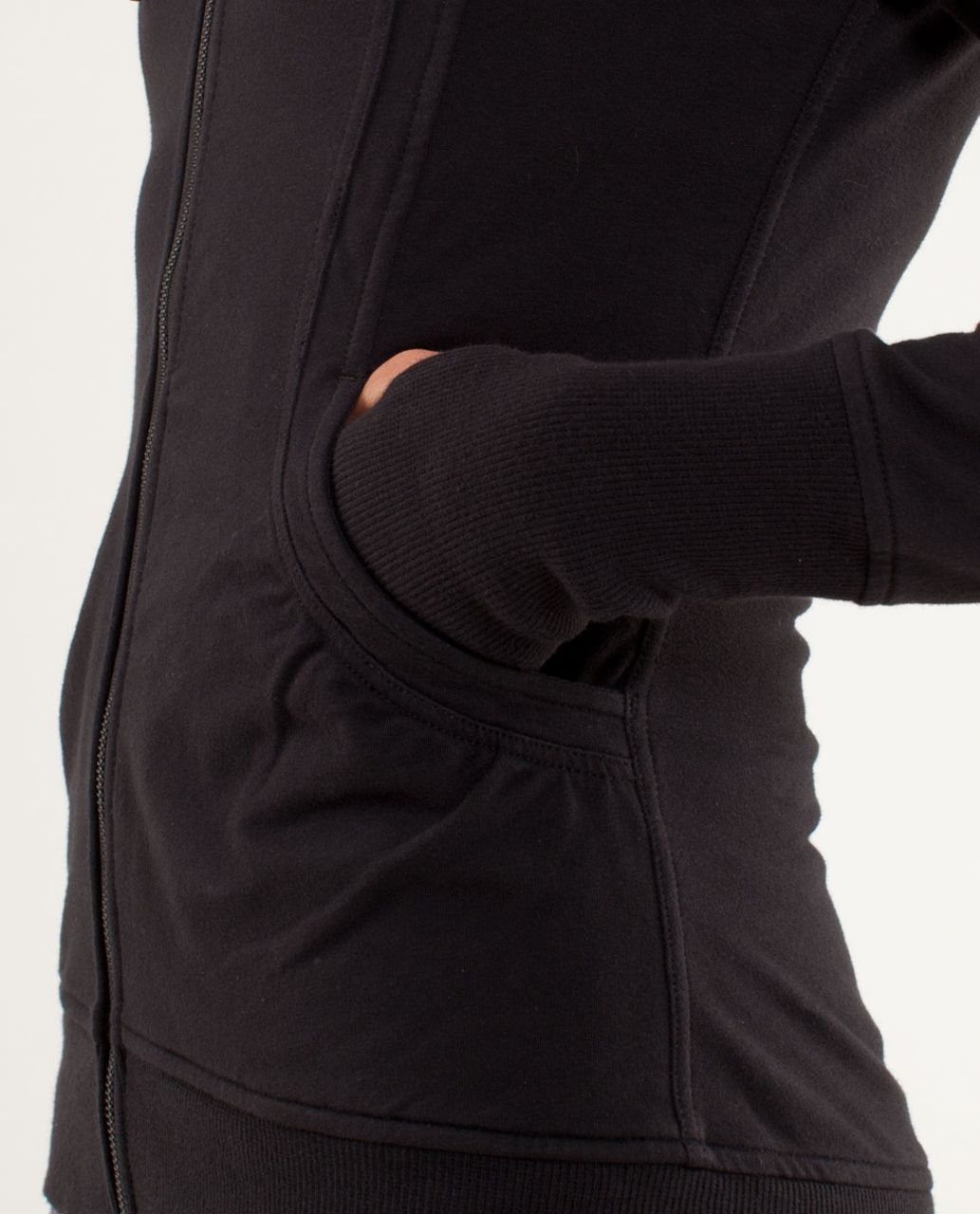 Lululemon Back To Class Jacket - Black - lulu fanatics