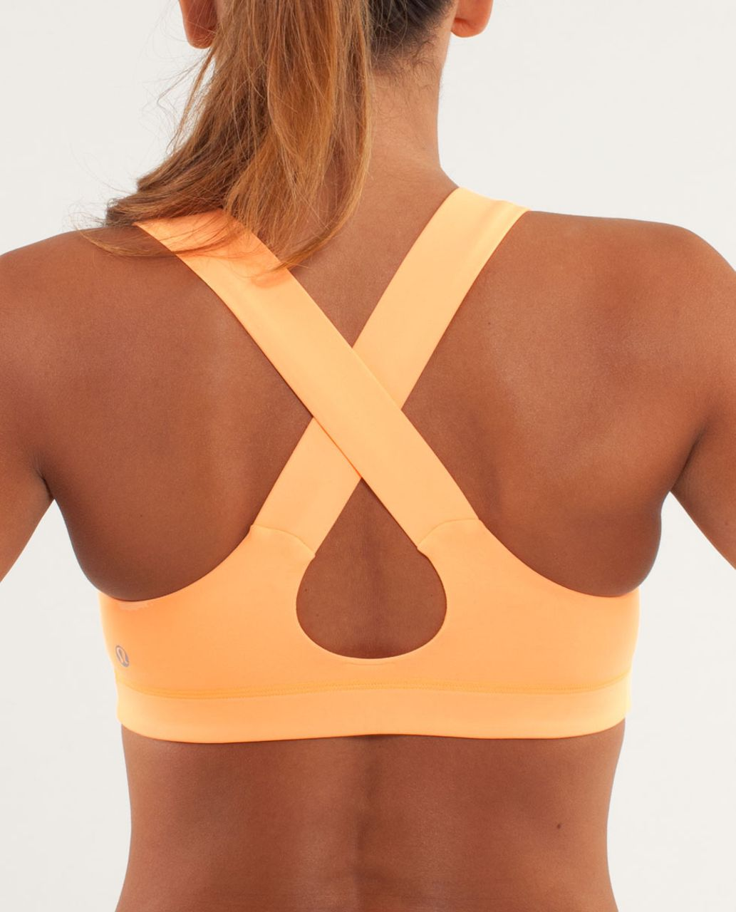 3955ae57e5 Lululemon All Sport Bra - Creamsicle Pop - lulu fanatics