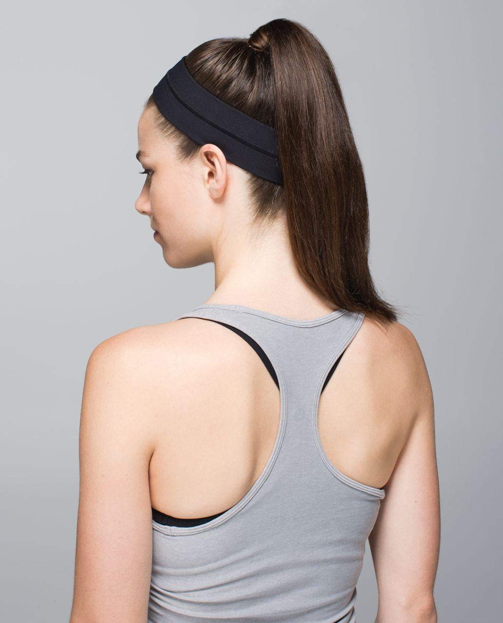 Lululemon Fly Away Tamer Headband - Black