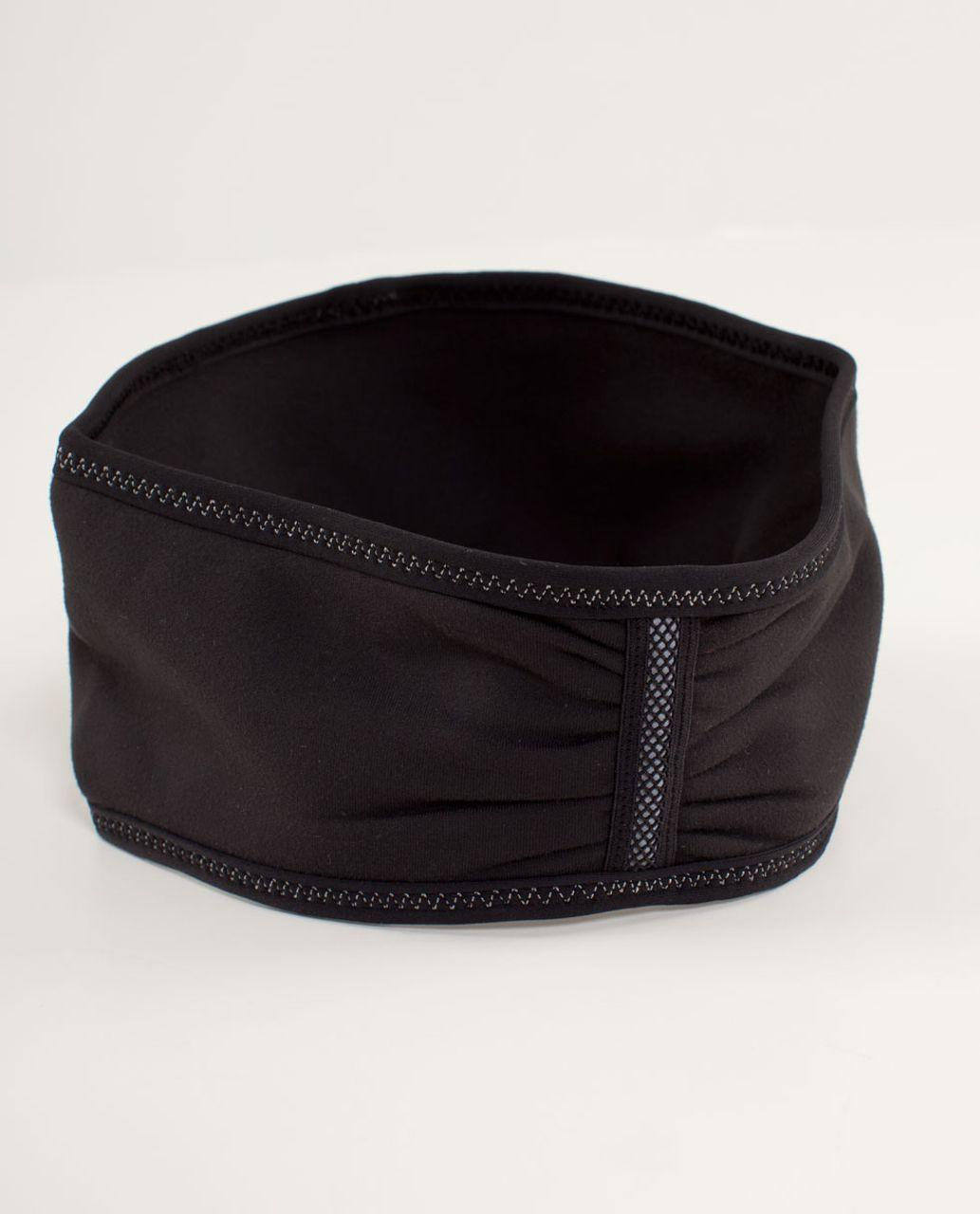 Lululemon Brisk Run Headband - Black / Black