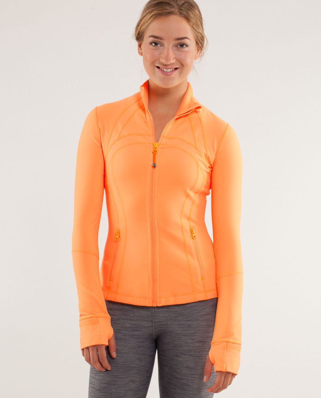 Lululemon Define Jacket *Brushed - Creamsicle Pop