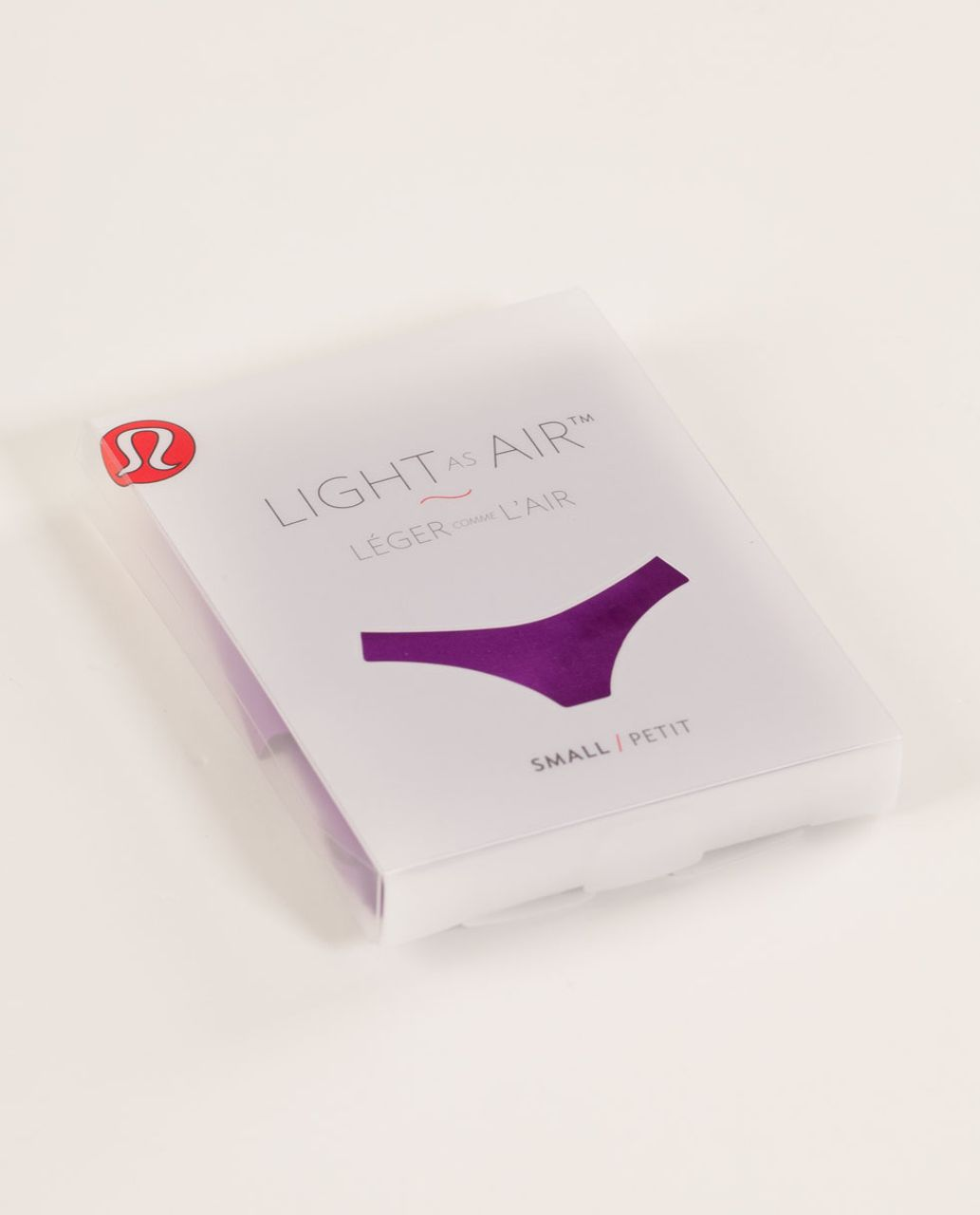 Lululemon Light As Air Thong - Tender Violet