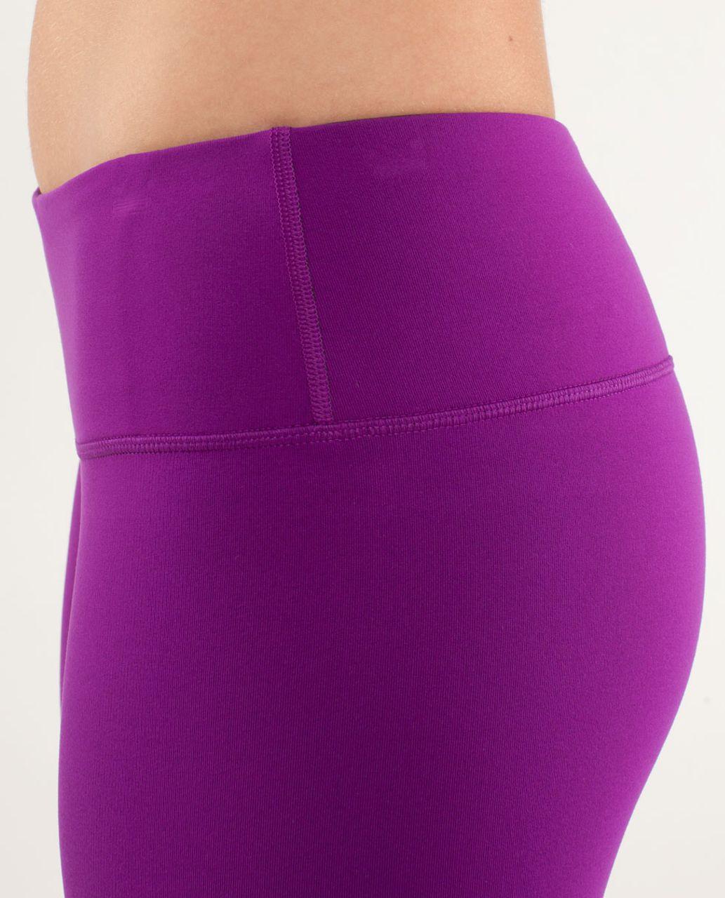 Lululemon Wunder Under Pant *Reversible - Tender Violet / Black