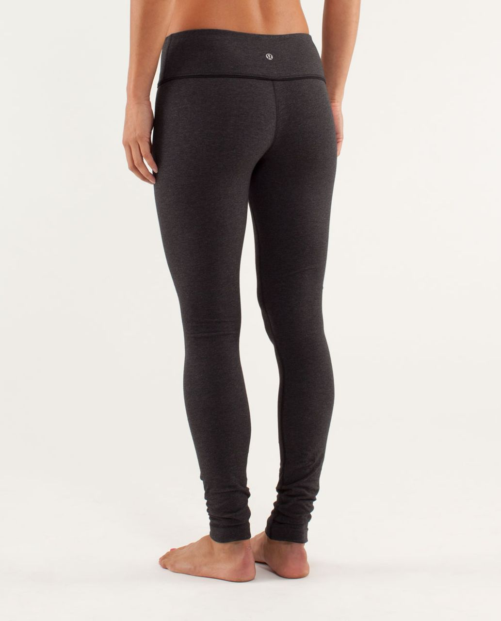 Lululemon Wunder Under Pant *Organic - Heathered Black / Black / Micro Macro Black Heathered Black