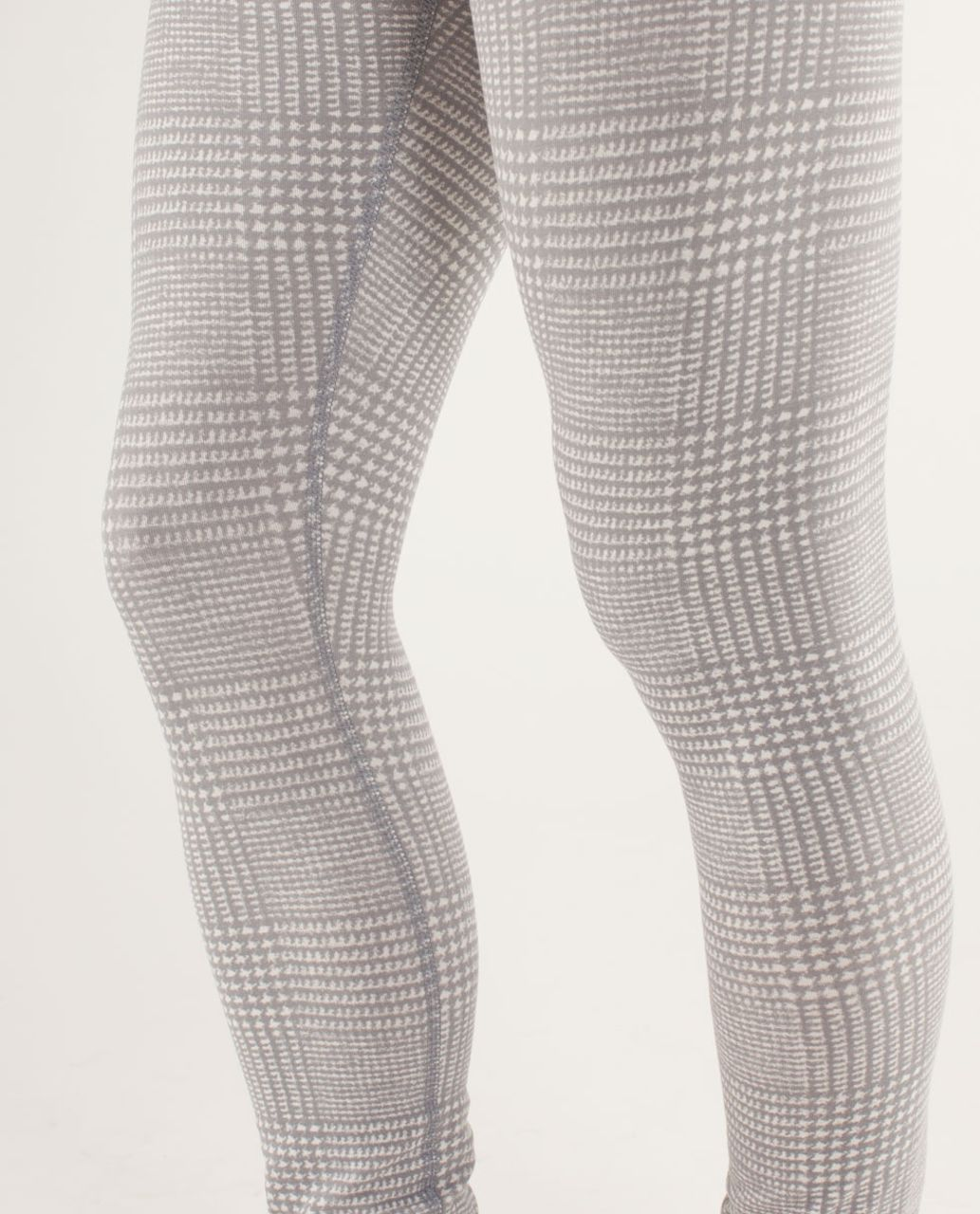 Lululemon Wunder Under Pant *Organic - Glen Check Polar Cream Silver Slate / Polar Cream / Micro Macro Polar Cream Silver Slate